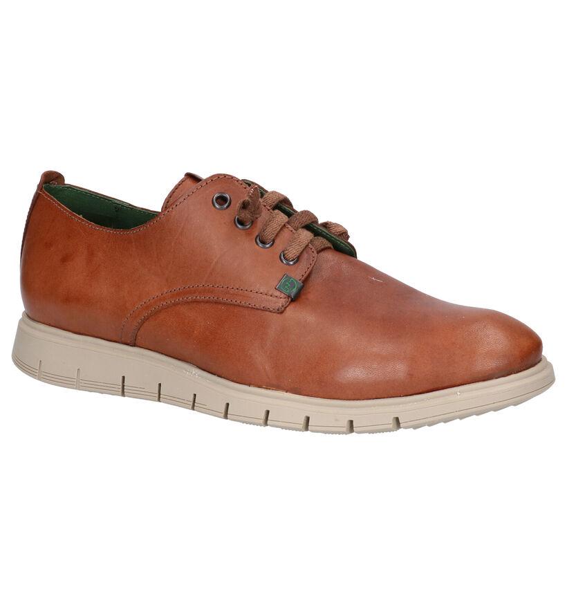Slowwalk Chaussures basses en Cognac en cuir (275054)