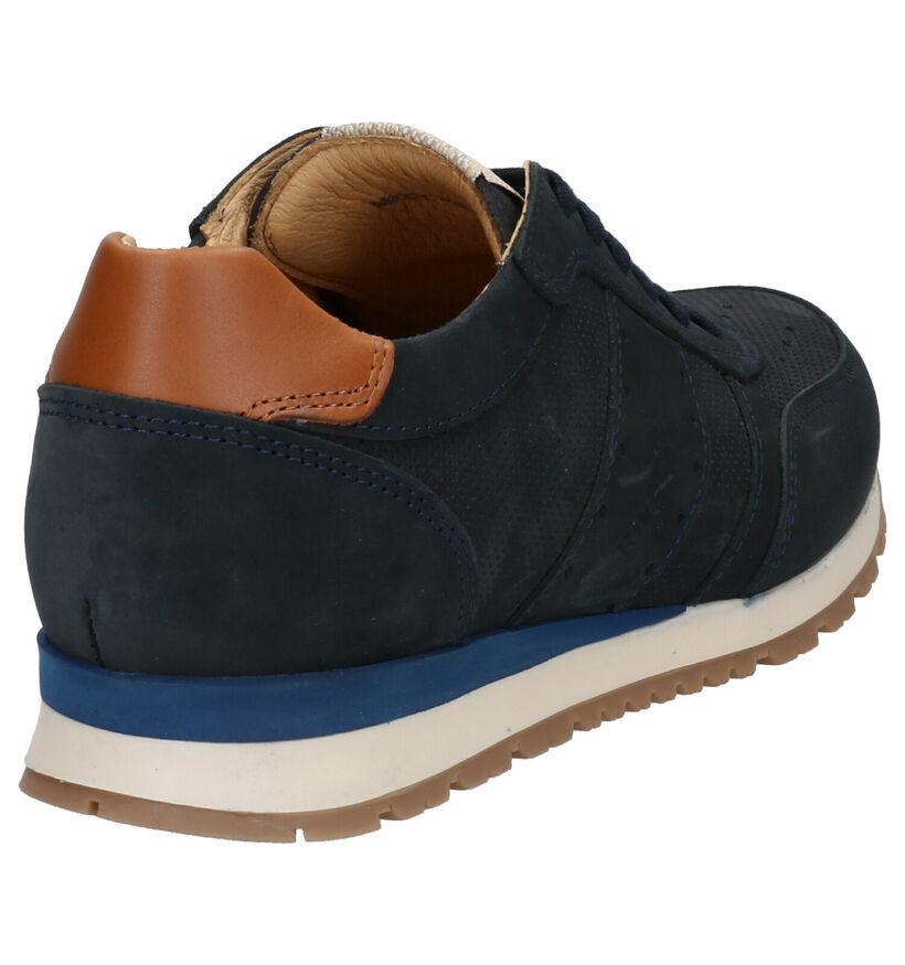 River Woods Buddy Chaussures à Lacets en Bleu en nubuck (271148)