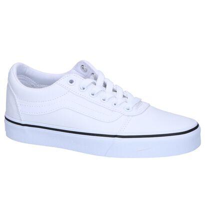 Vans Ward Zwarte Skate Sneakers in stof (267603)