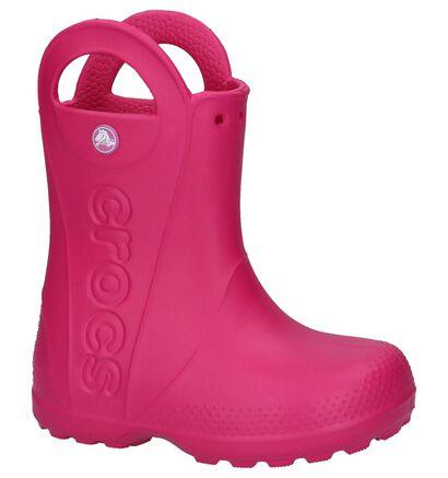 Crocs Handle It Fuxia Regenlaarzen, Roze, pdp