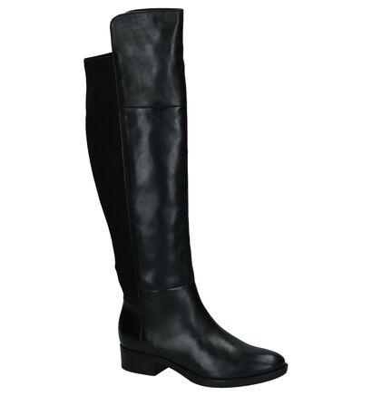 Geox Felicity Zwarte Lange Laarzen, Zwart, pdp