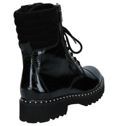 Gabor Zwarte Boots in lakleer (260235)