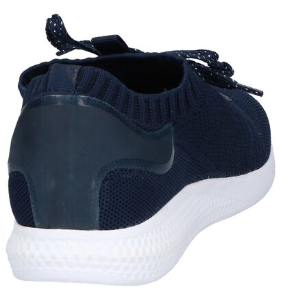 Zwarte Sneakers Dazzle, Blauw, pdp