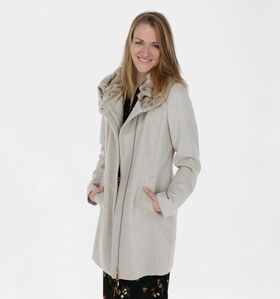 comma Manteau en Beige (280349)