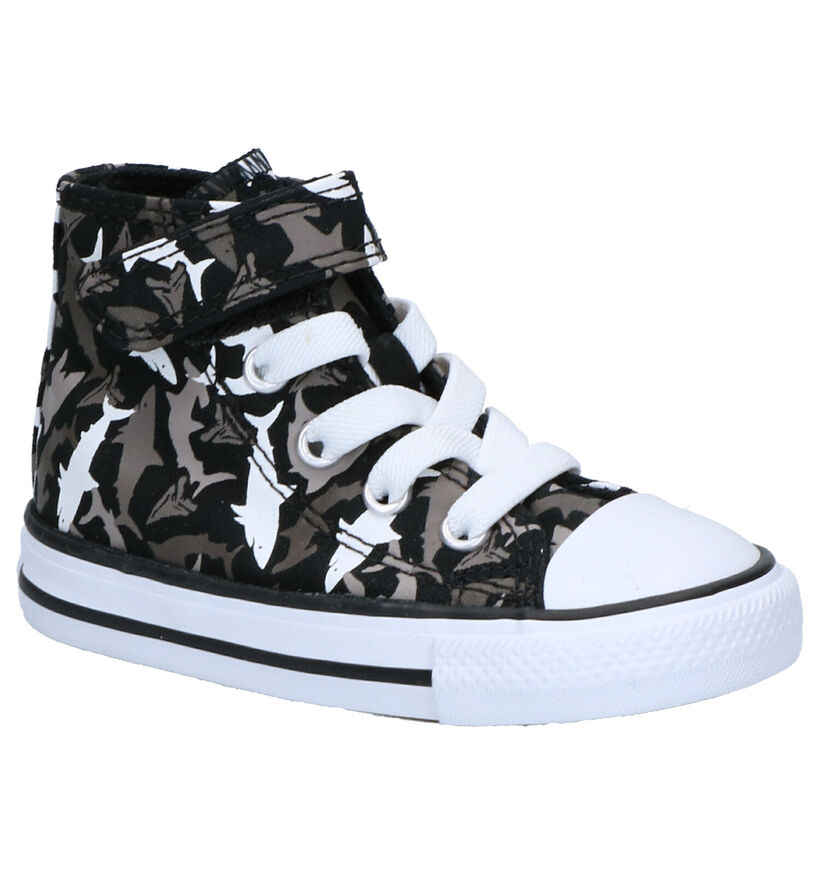 Converse Chuck Taylor AS Hi Grijze Sneakers in stof (263508)