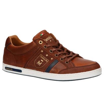 Pantofola d'Oro Mondovi Low Chaussures Basses en Bleu en cuir (257381)