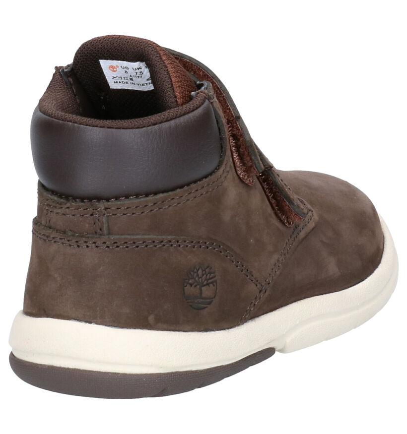 Timberland Toddle Tracks Bruine Boots in nubuck (254753)