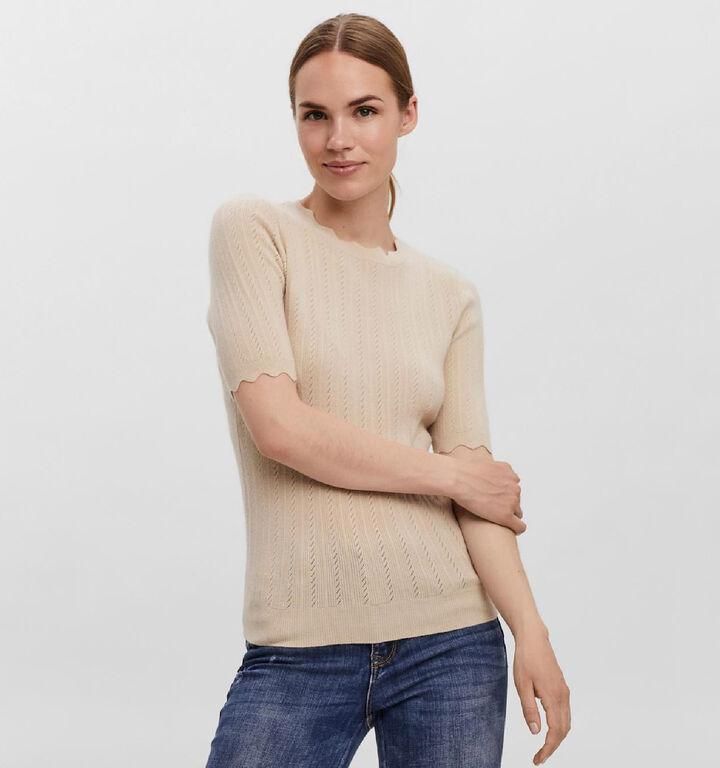 Vero Moda Karis Beige T-Shirt