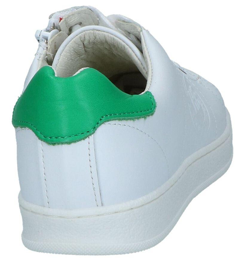 Hampton Bays Chaussures basses en Blanc en cuir (241479)