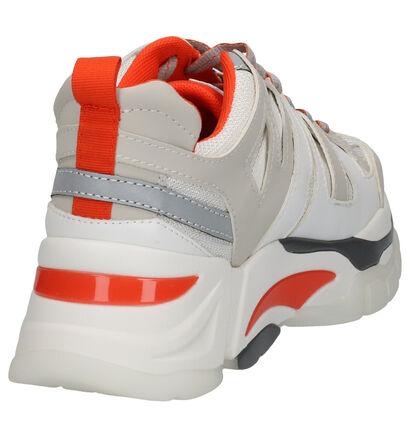 Steve Madden Bronte Ecru Sneakers in kunstleer (256078)