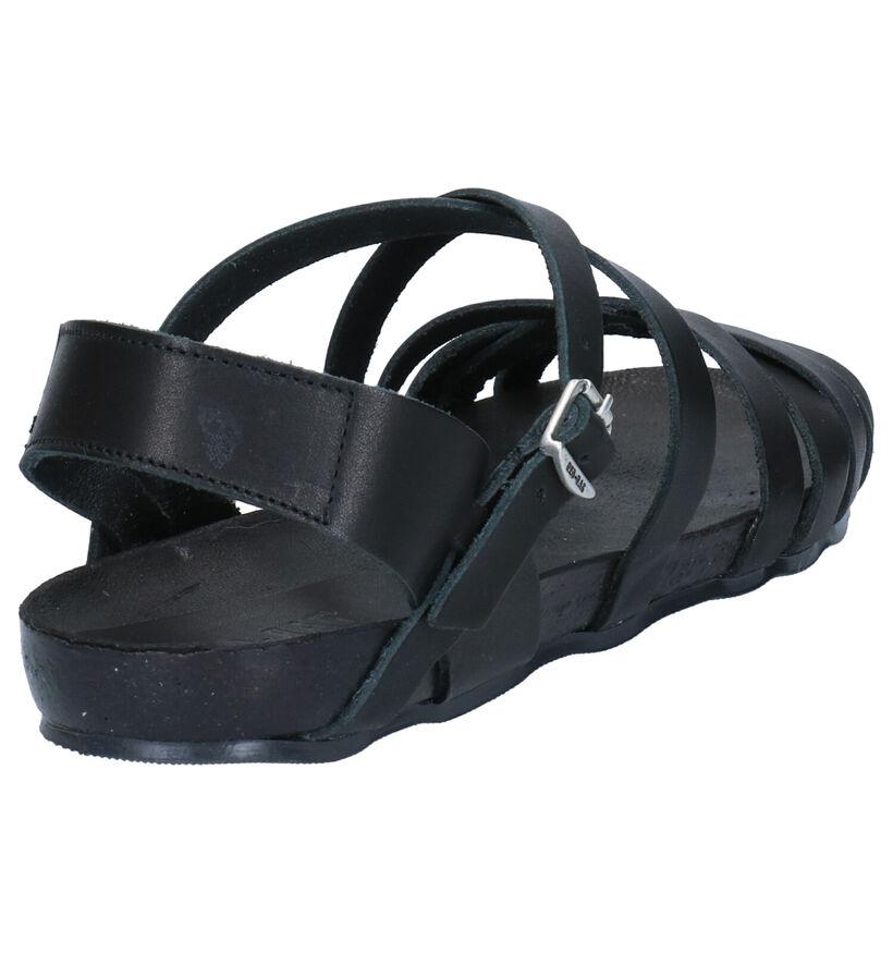 Red Rag Zwarte Sandalen in leer (275493)