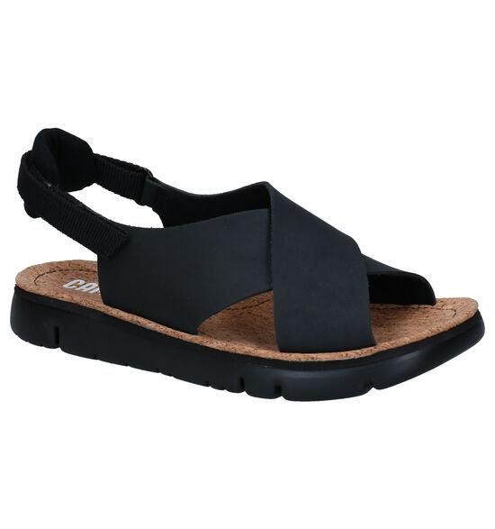 Camper Sandales à talons en Noir