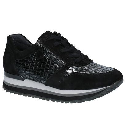 Gabor Cognac Sneakers in daim (260223)