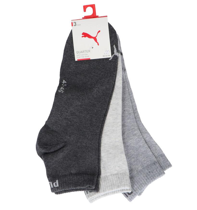 Puma Zwarte Sneakersokken - 3 Paar (221370)