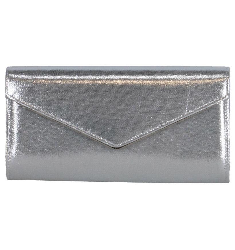 Zilveren Clutch Lotus Nina in stof (244404)