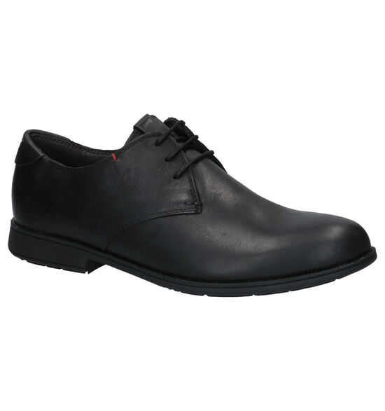 Camper Zwarte Geklede Schoenen