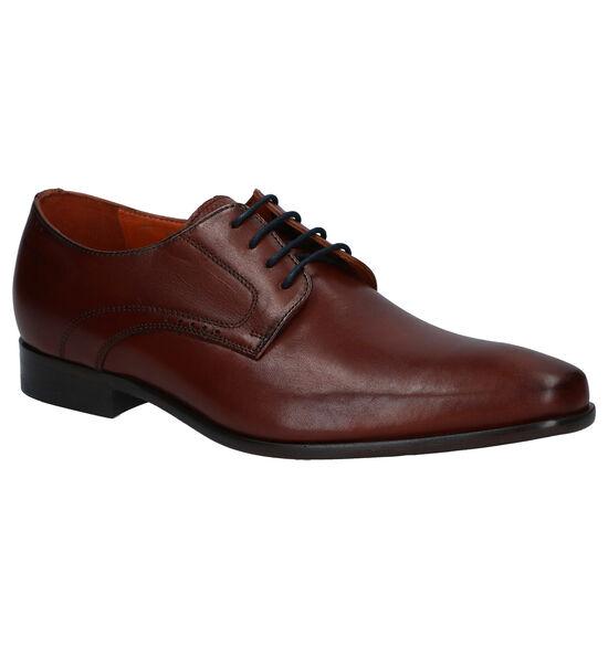 Van Lier Chaussures habillées en Brun foncé