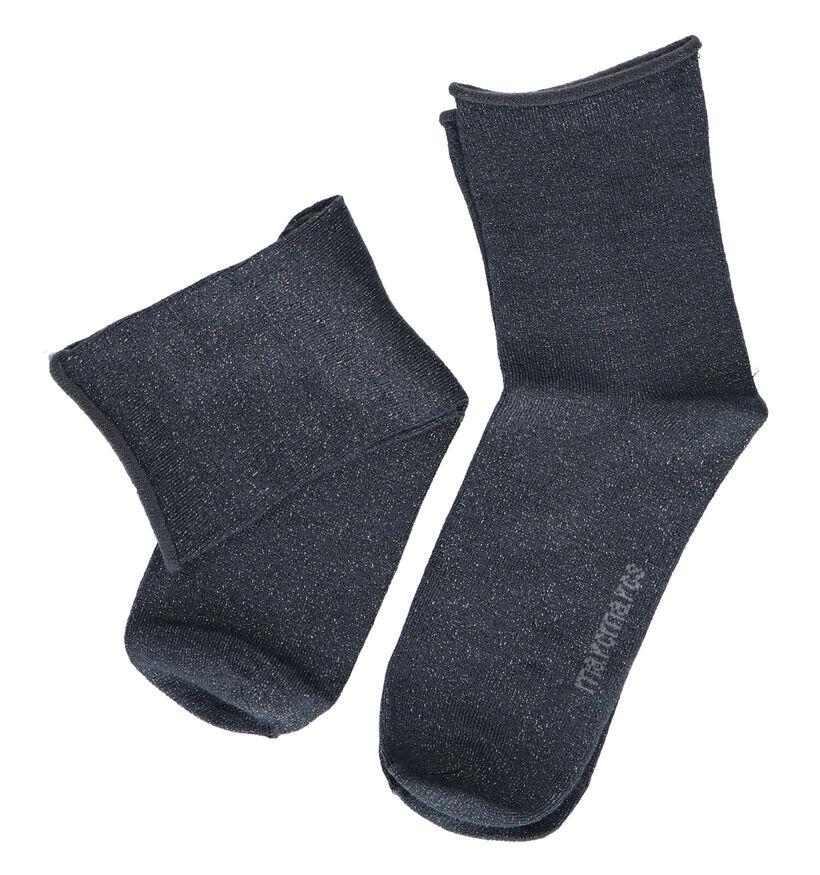 Marcmarcs Blackpool Zwarte Sokken - 2 Paar (264121)