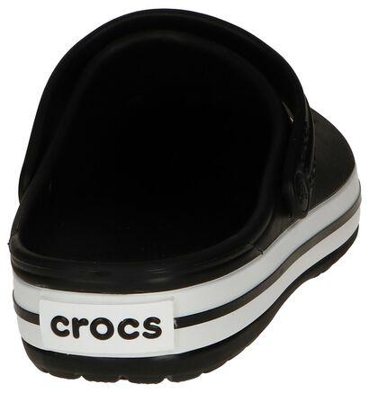 Zwarte Slippers Crocs Crocband in kunststof (243620)