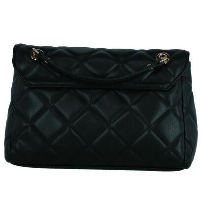 Valentino Handbags Ocarina Zwarte Crossbody Tas in imitatieleer (259220)
