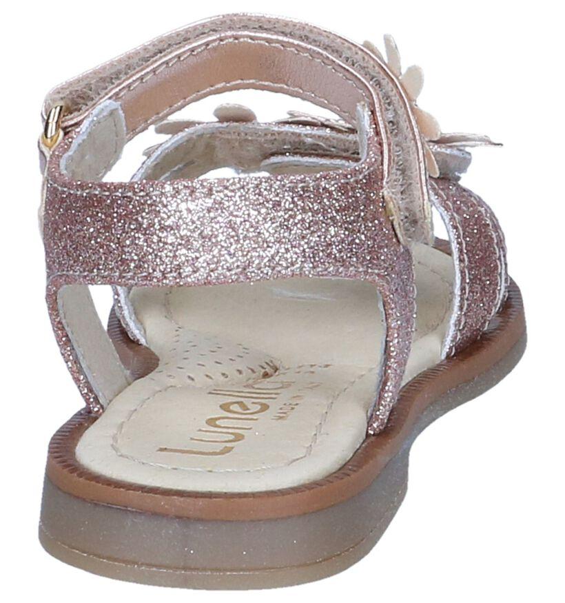 Zilveren Sandalen Lunella in leer (238974)
