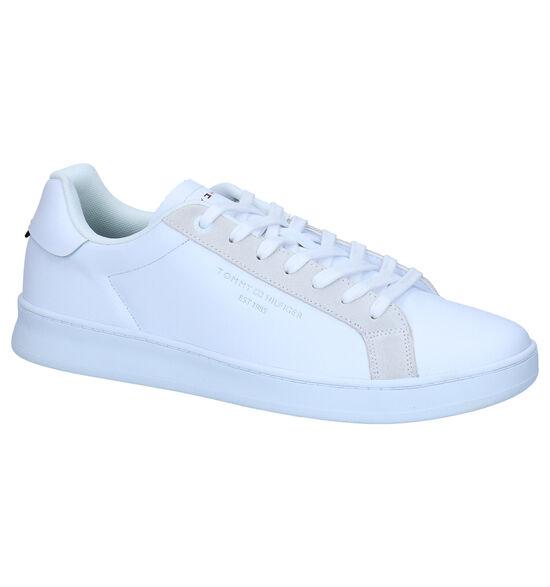 Tommy Hilfiger Cupsole Chaussures à lacets en Blanc