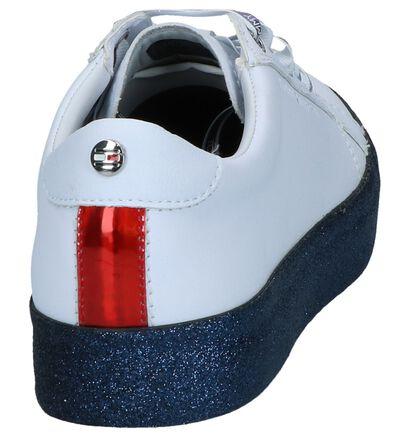 Witte Sneakers Tommy Hilfiger Glitter in kunstleer (241750)