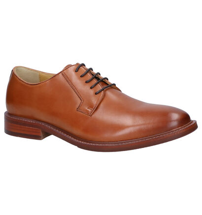 Steptronic Banbury Cognac Geklede Veterschoenen in leer (259268)