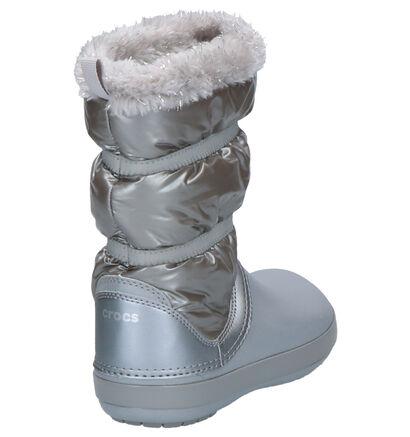 Crocs Crocband Roze Snowboots in stof (255727)