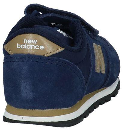Babysneakers Donkerblauw New Balance KE 420 in nubuck (222845)