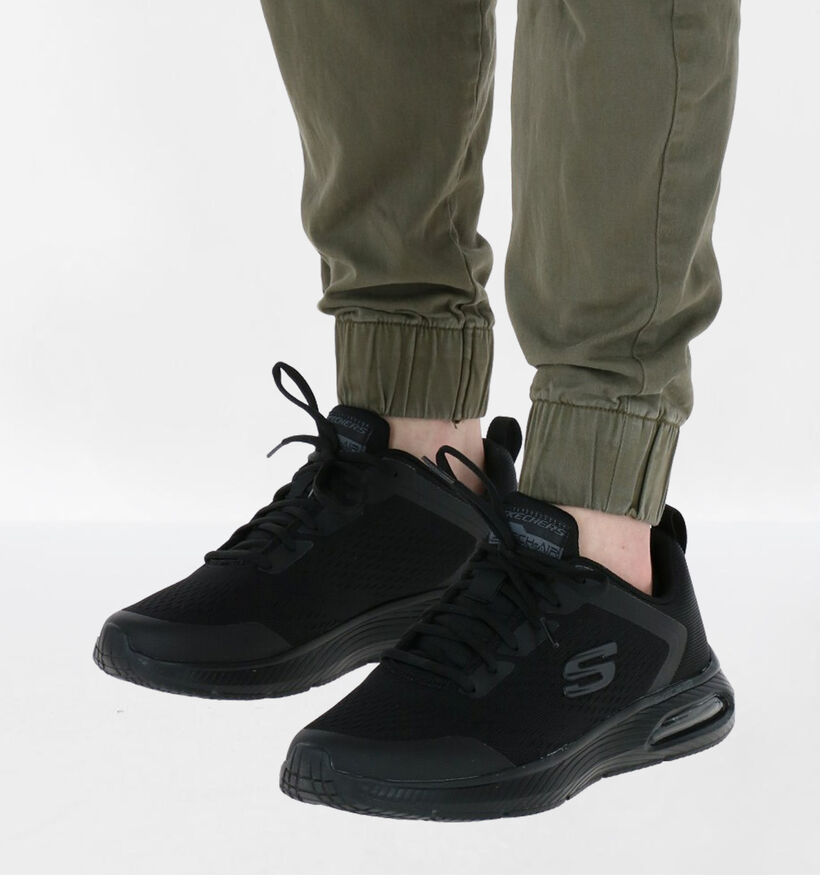 Skechers Dyna-air Pelland Baskets en Noir en textile (279363)