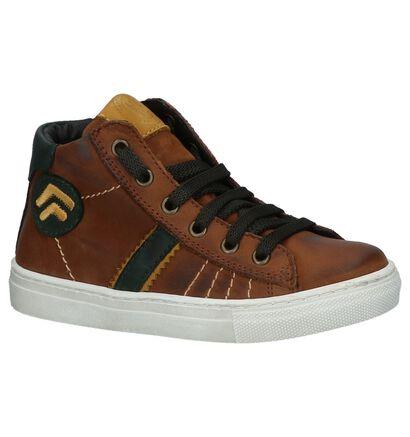 Hampton Bays Chaussures hautes en Cognac en cuir (224120)