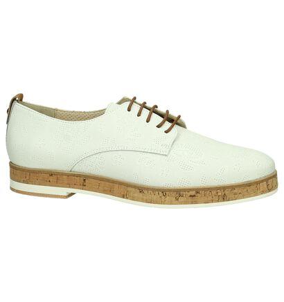 JHay Chaussures à lacets en Blanc en cuir (195301)