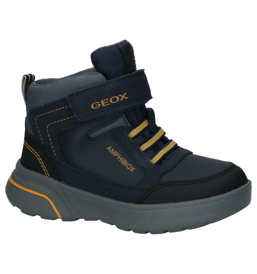 Geox Chaussures hautes en Bleu foncé en simili cuir (223163)
