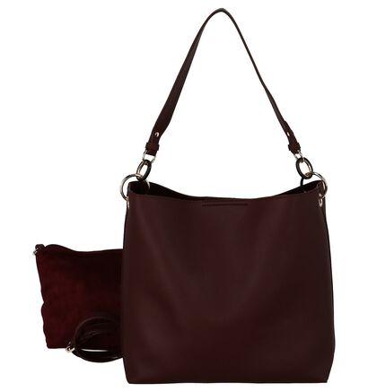 Valentino Handbags Olympia Bordeaux 2 in 1 Tas in kunstleer (232976)