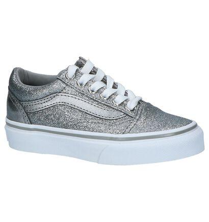 Zilveren Lage Sneakers Vans Old Skool, Zilver, pdp
