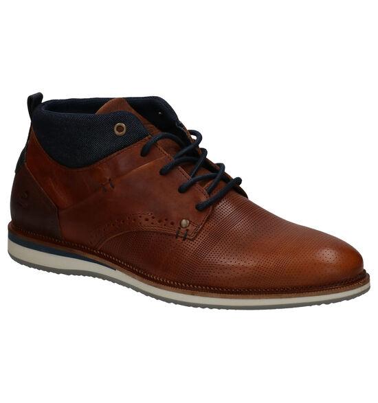 Bullboxer Chaussures hautes en Cognac