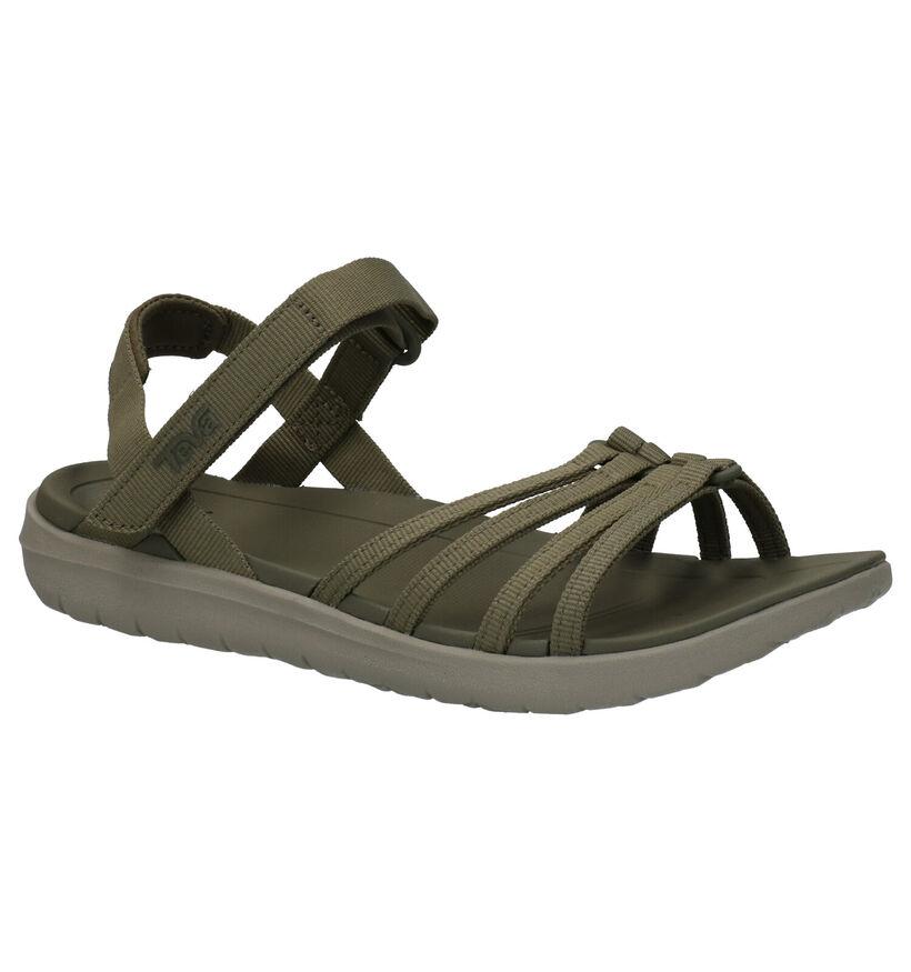 Teva Sanborn Zwarte Sandalen in stof (270637)