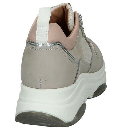 Grijze Sneakers Scapa in leer (246096)
