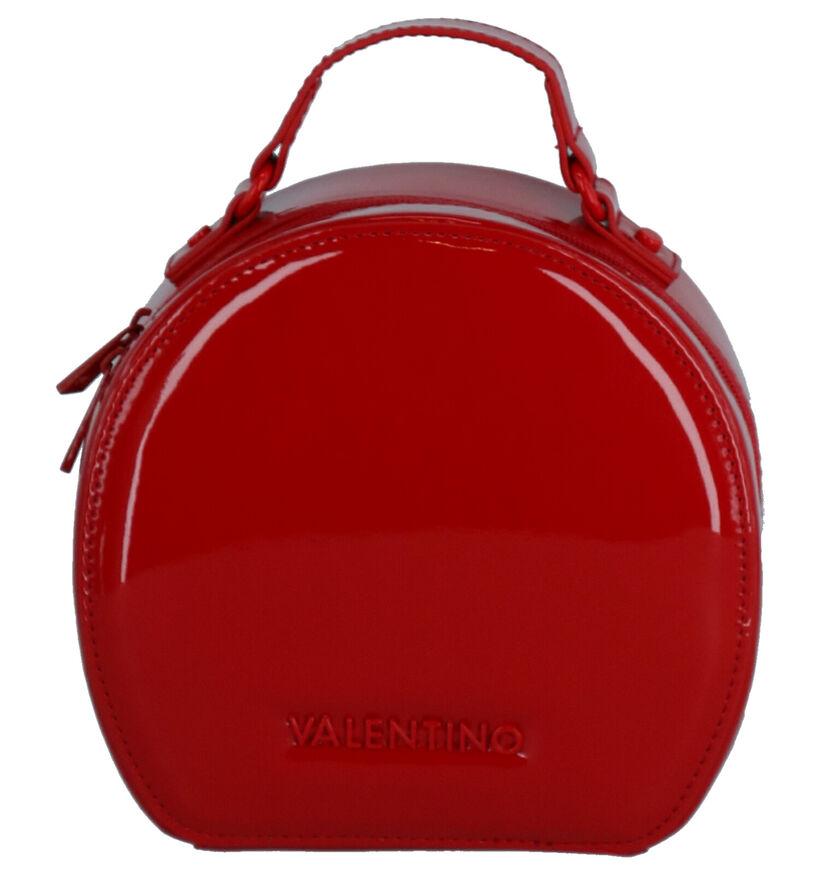 Valentino Handbags Tamburo Sac porté croisé en Rouge en simili cuir (259248)