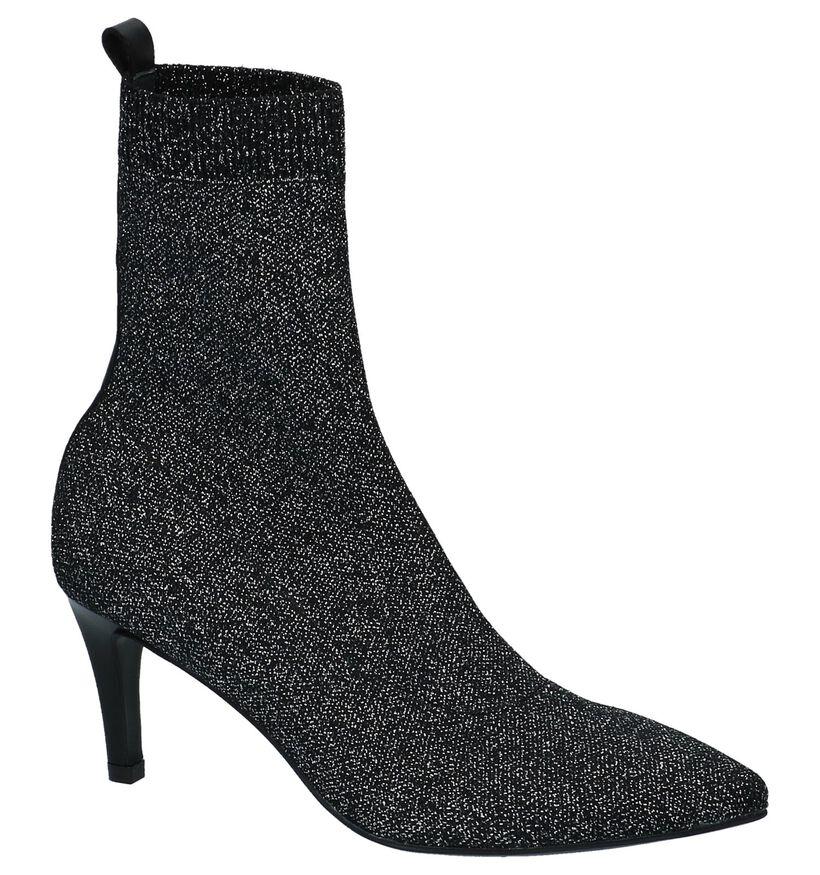 Maripé Bottes basses en Noir en textile (230217)