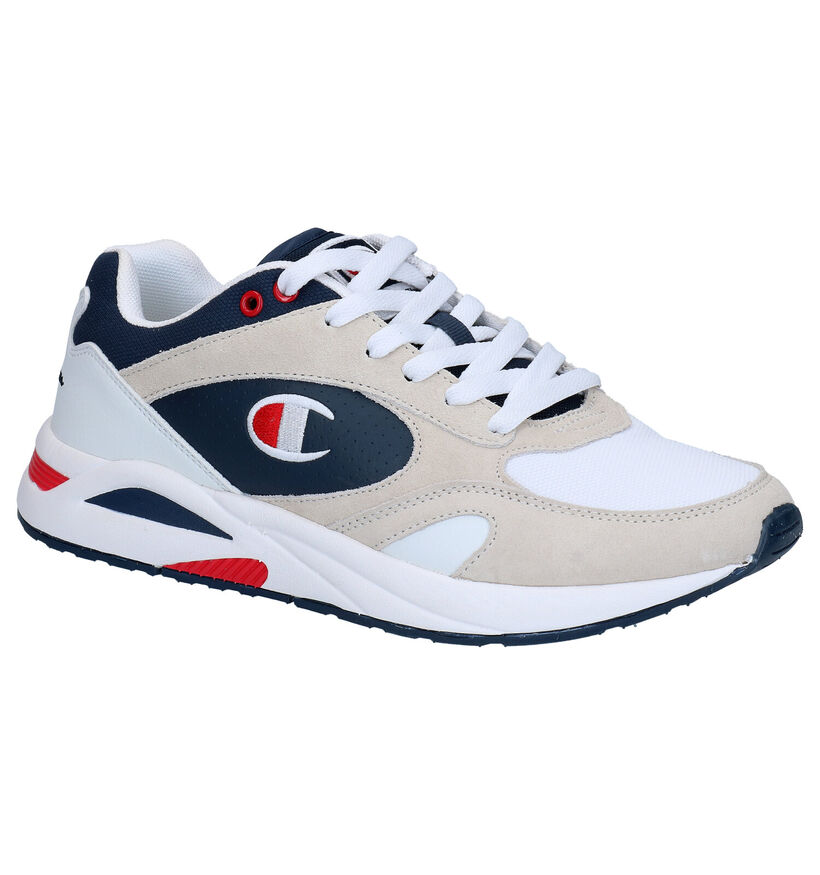 Champion Torrance Low Witte Sneakers in nubuck (265589)