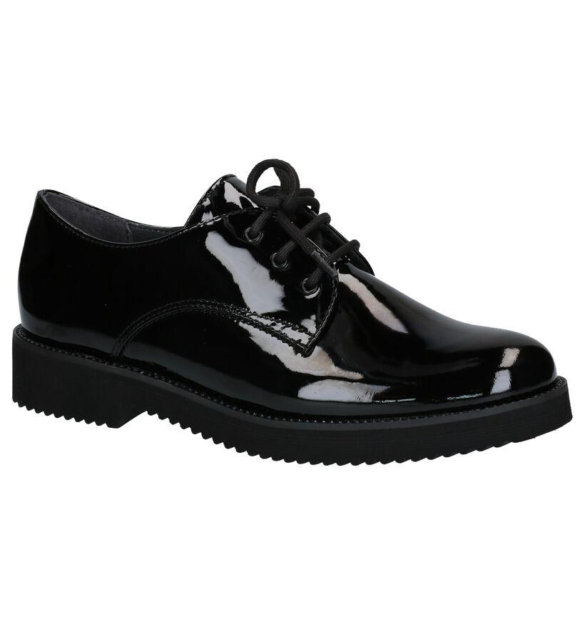 Gabor Optifit Chaussures Basses en Noir en cuir (260214)
