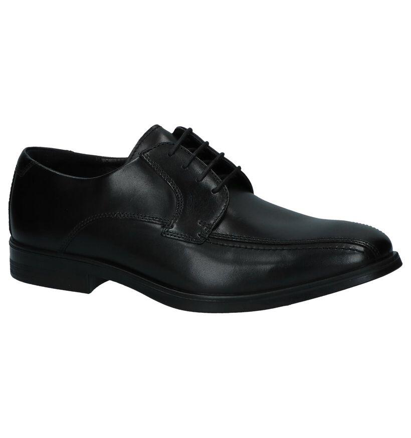 Melbourne Chaussures habillées en Noir en cuir (237747)