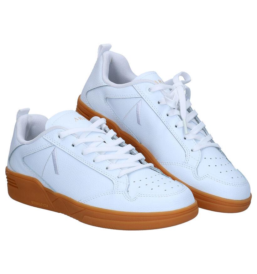 Arkk Visuklass Witte Sneakers in kunstleer (279274)