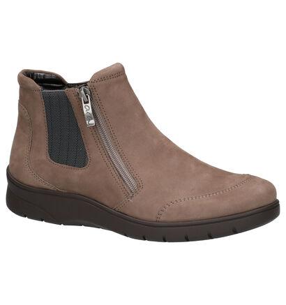 Ara Meran Chaussures hautes en Taupe en nubuck (260840)