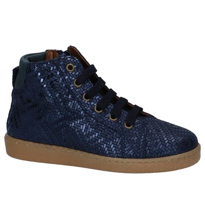 Bisgaard Chaussures hautes en Bleu foncé en cuir (235993)
