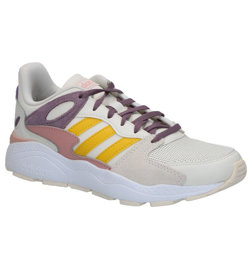 adidas Crazychaos Sneakers en Beige en cuir (264861)