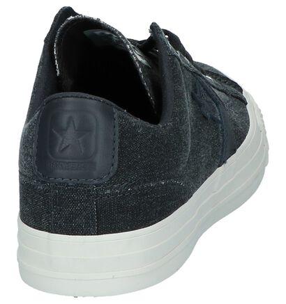 Converse Baskets basses en Gris foncé en textile (210391)