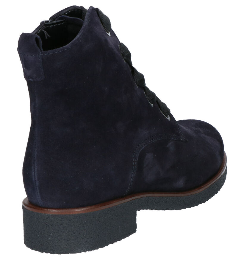 Gabor Blauwe Boots in daim (260232)